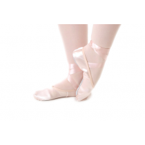 Ballet-shoes-split-sole-satin