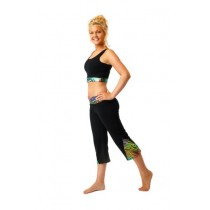 Zumba-metallic-cropped-dance-fitness-trousers-3